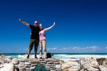 ephan am südlichsten Punkt von Südafrika