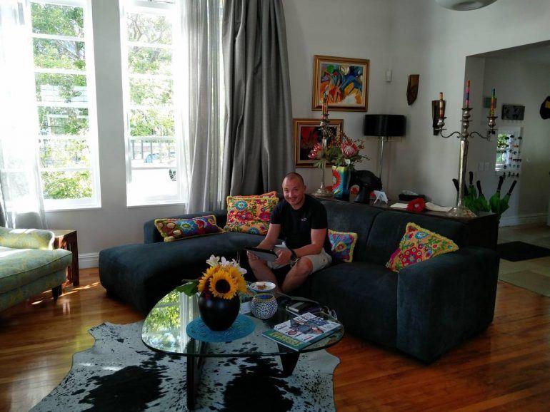 Gemeinschaftswohnzimmer im Derwent House