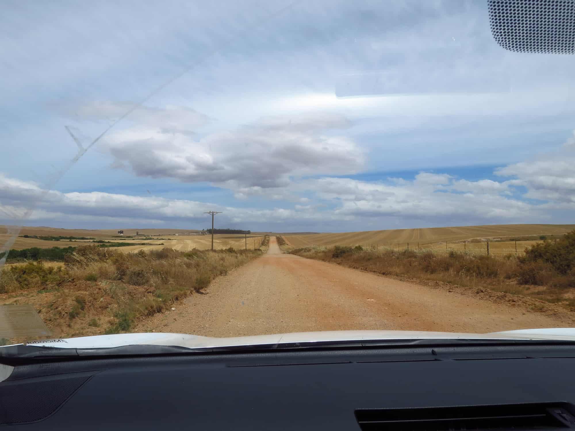 Straße Richtung De Hoop Nature Reserve