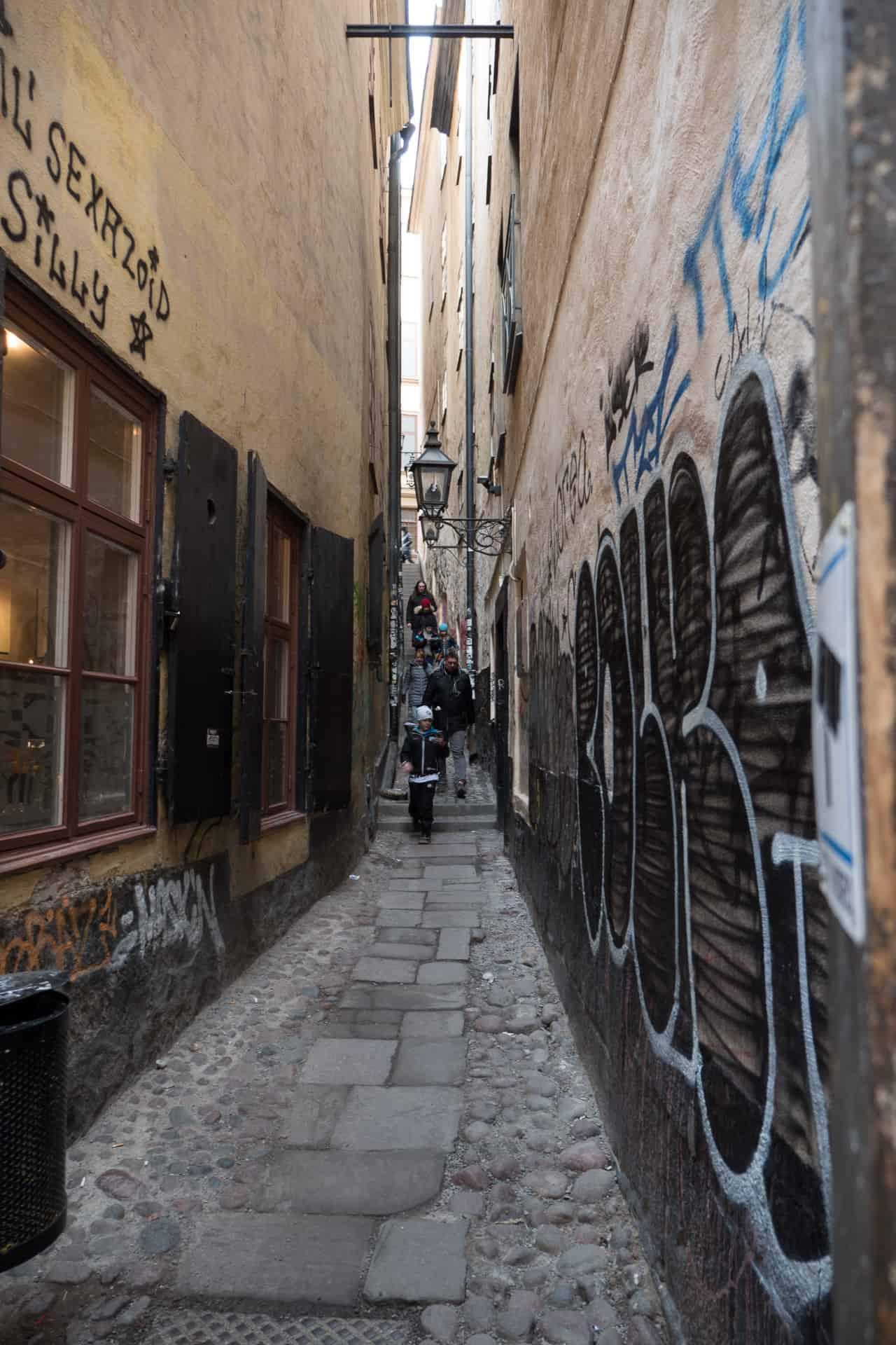 Marten Trotzigs Gränd in Stockholm