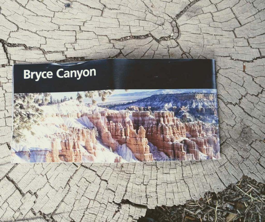 Karte Bryce Canyon Nationalpark