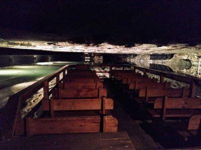 Salzsee im Salzbergwerk in Berchtesgaden