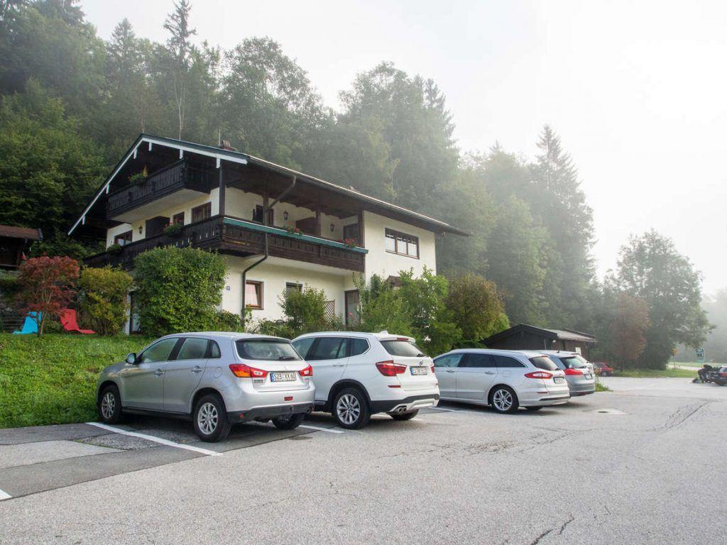 Außenansicht Gebirgshäusl in Berchtesgaden