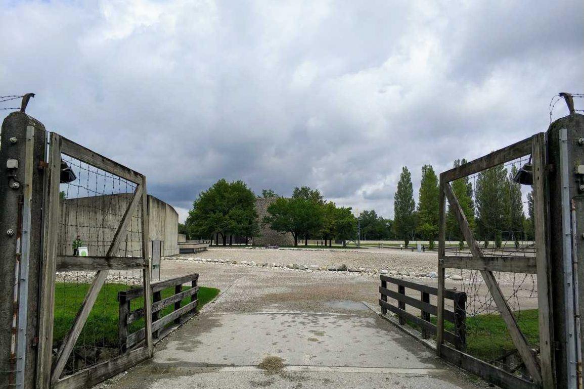 Außengelände KZ Gedenkstätte Dachau