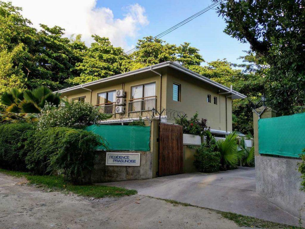 Residence Praslinoise auf Praslin auf den Seychellen