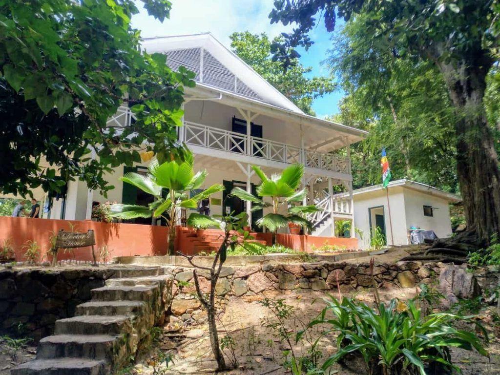 Doctors House auf Curieuse Seychellen