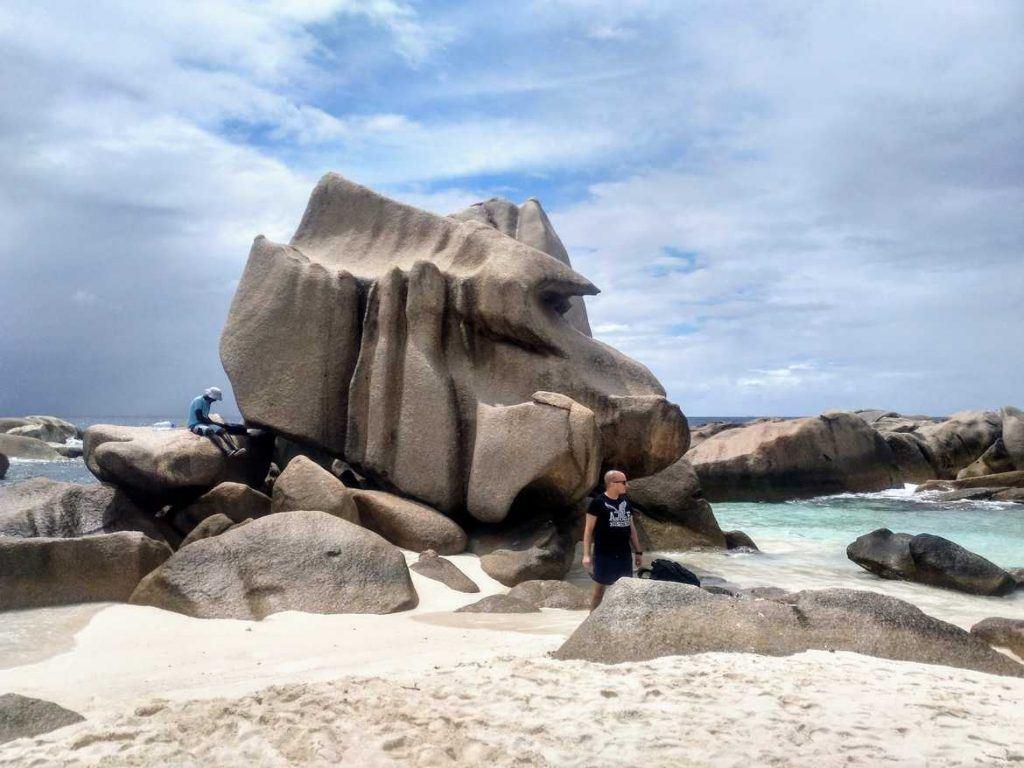 Anse Marron auf La Digue Seychellen