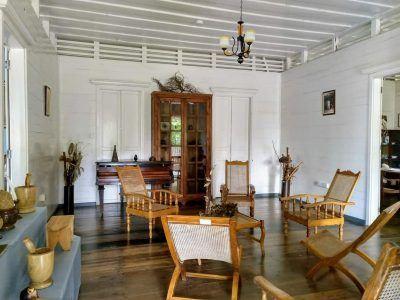 Kolonialhaus Craft Village Mahe Seychellen