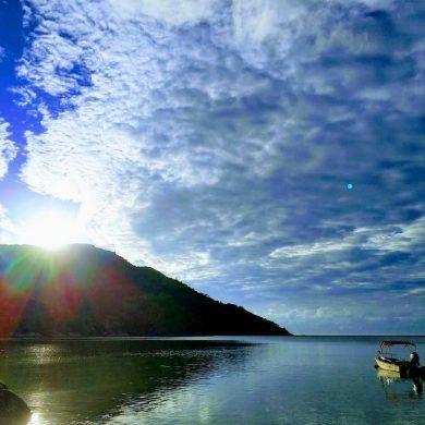 Baie Ternay auf Mahe Seychellen