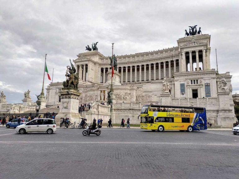 Viktor Emanuelsdenkmal in Rom Italien