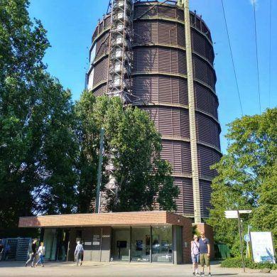Gasometer Oberhausen Außensicht