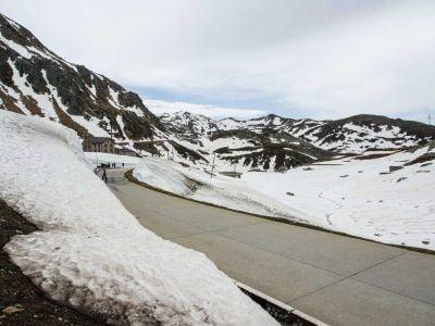 Unterwegs auf dem Gotthardpass Schweiz