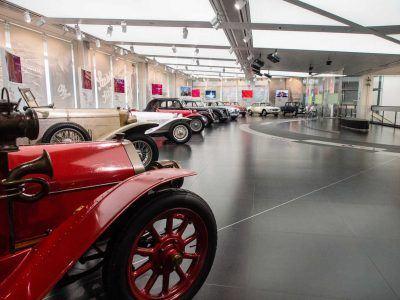 Alfa Romeo Museum in Arese Italien