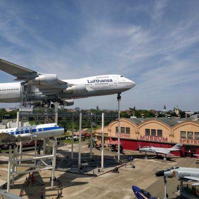 Übersicht Technikmuseum in Speyer Deutschland
