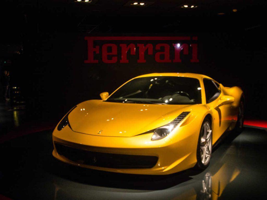Automuseum in Turin Italien