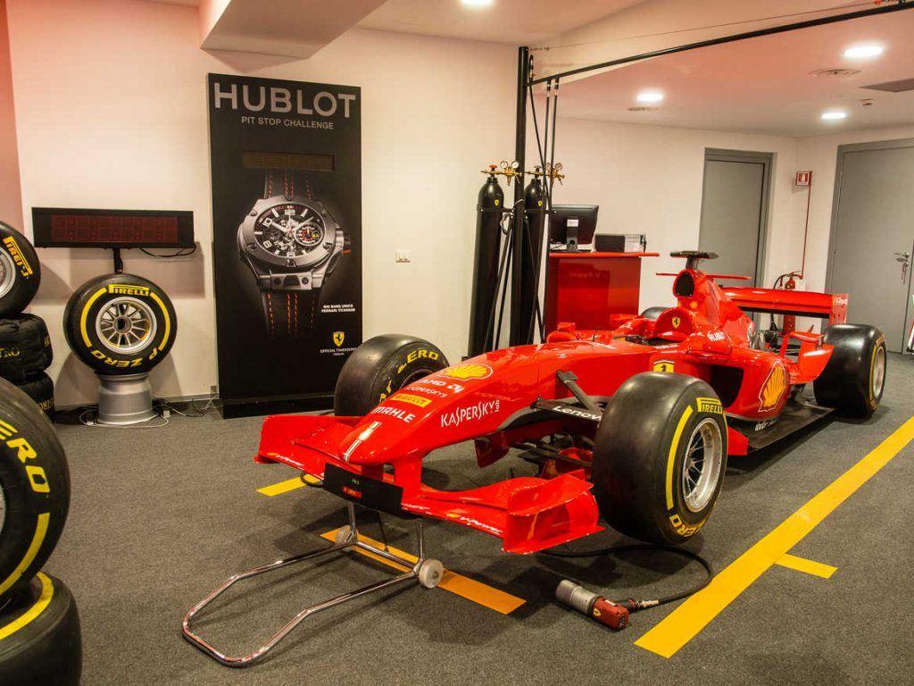 Ferrari Museum in Maranello Italien