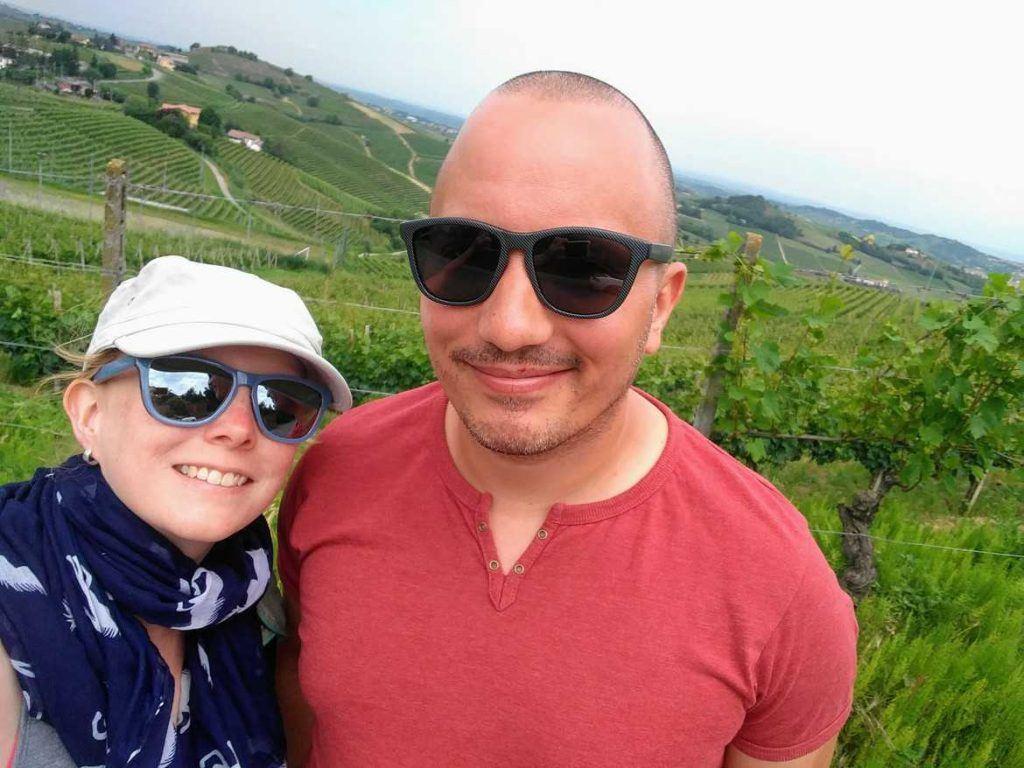 Sandra & Stephan unterwegs in Italien