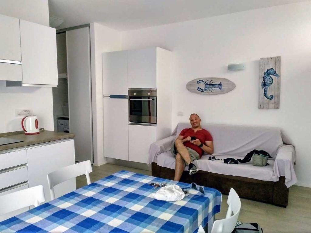 Airbnb in Levanto Italien