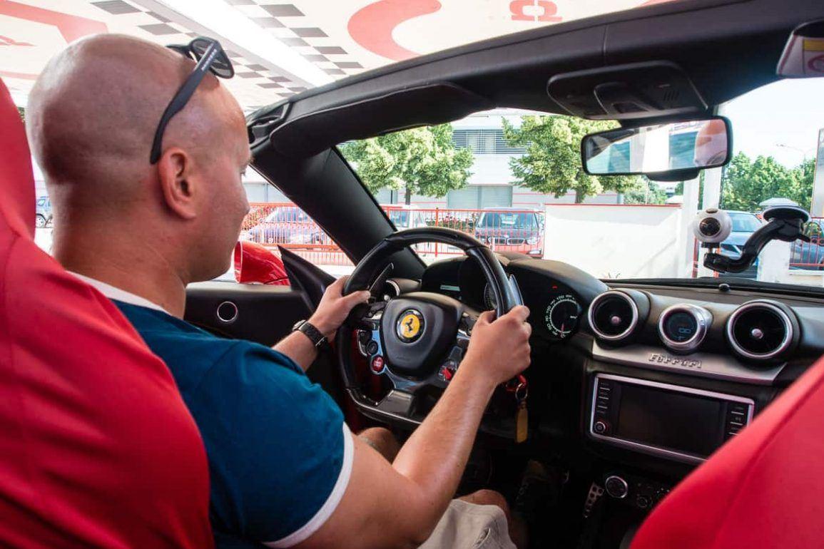 Ferrari selber fahren in Maranello