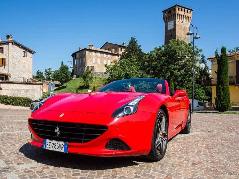 Ferrari in Maranello Italien