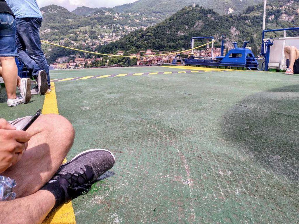 Fähre am Lago di Como Italien
