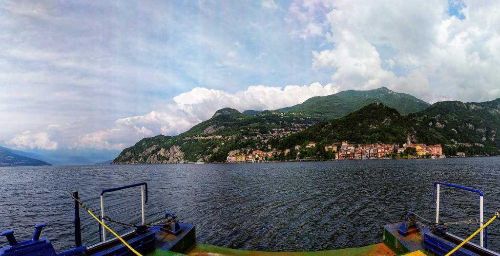 Panorama Lago di Como Italien