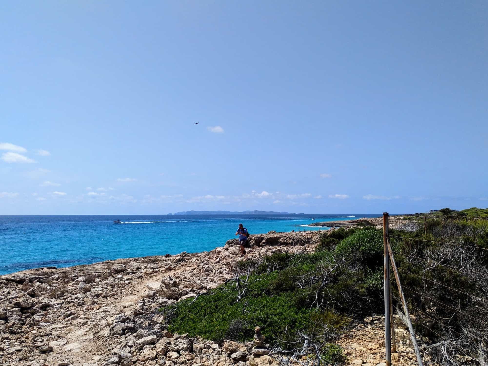 Küstenwanderweg im Süden von Mallorca