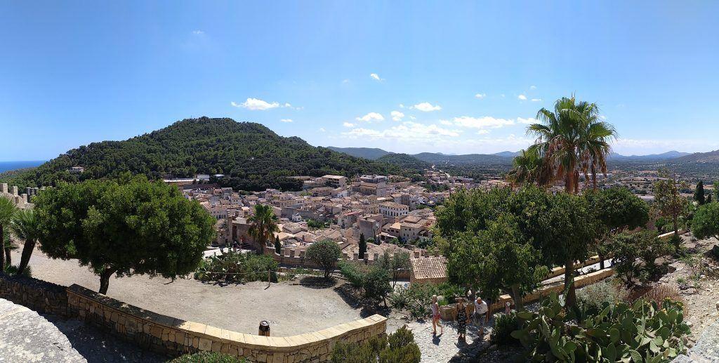 Panorama Capdepera Burg auf Mallorca