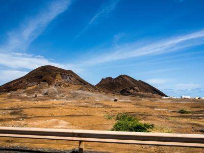 Alte Vulkankrater auf Sao Vicente Kapverden