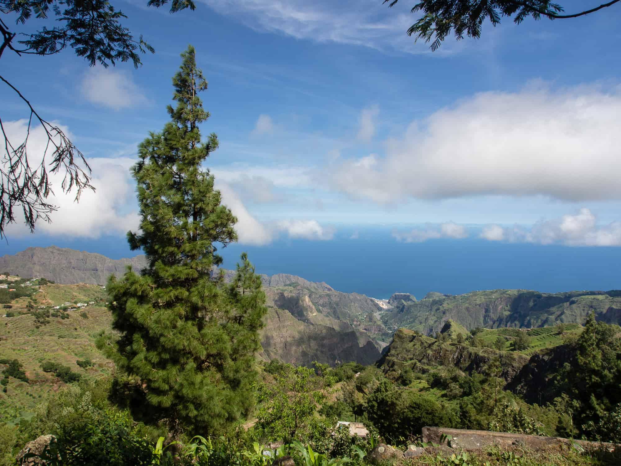 Tolle Aussicht auf Santo Antao Kapverden