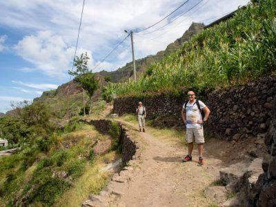 Stephan auf Santo Antao Kapverden