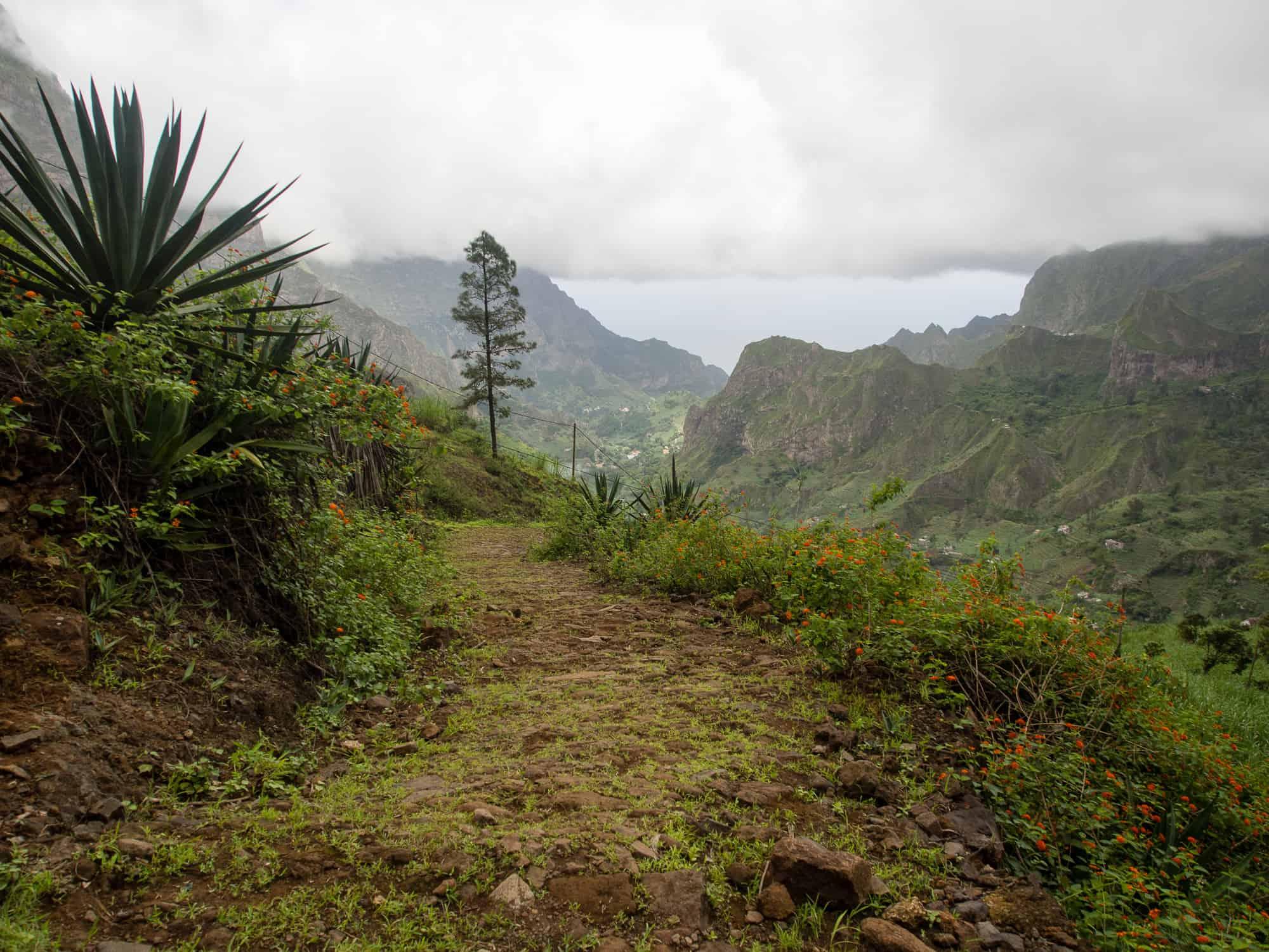 Paul Tal auf Santo Antao Kapverden