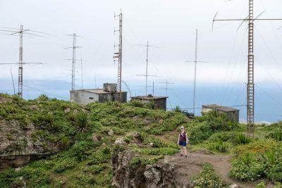 Blick vom Monte Verde auf Sao Vicente Kapverden