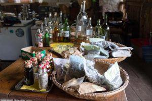 Köstlichkeiten in der Bar O Curral im Paul Tal auf Santo Antao Kapverden