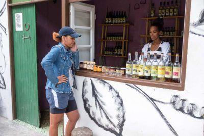 Grogue Probe auf Santo Antao Kapverden