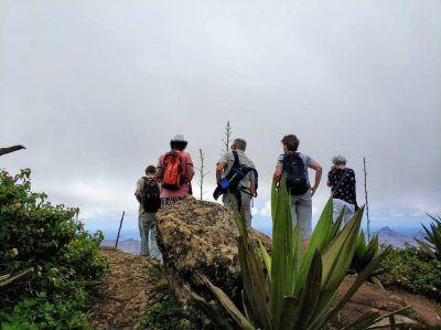 Höchster Punkt vom Monte Verde auf Sao Vicente Kapverden