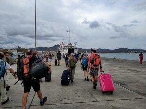 Fähre von Sao Vicente nach Santo Antao Kapverden