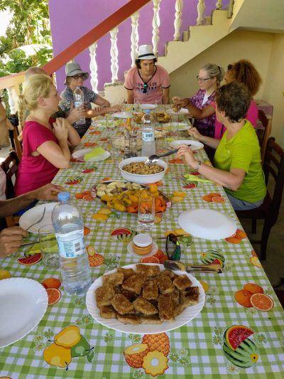 Mittagessen bei Mimi zu Hause auf Santo Antao Kapverden