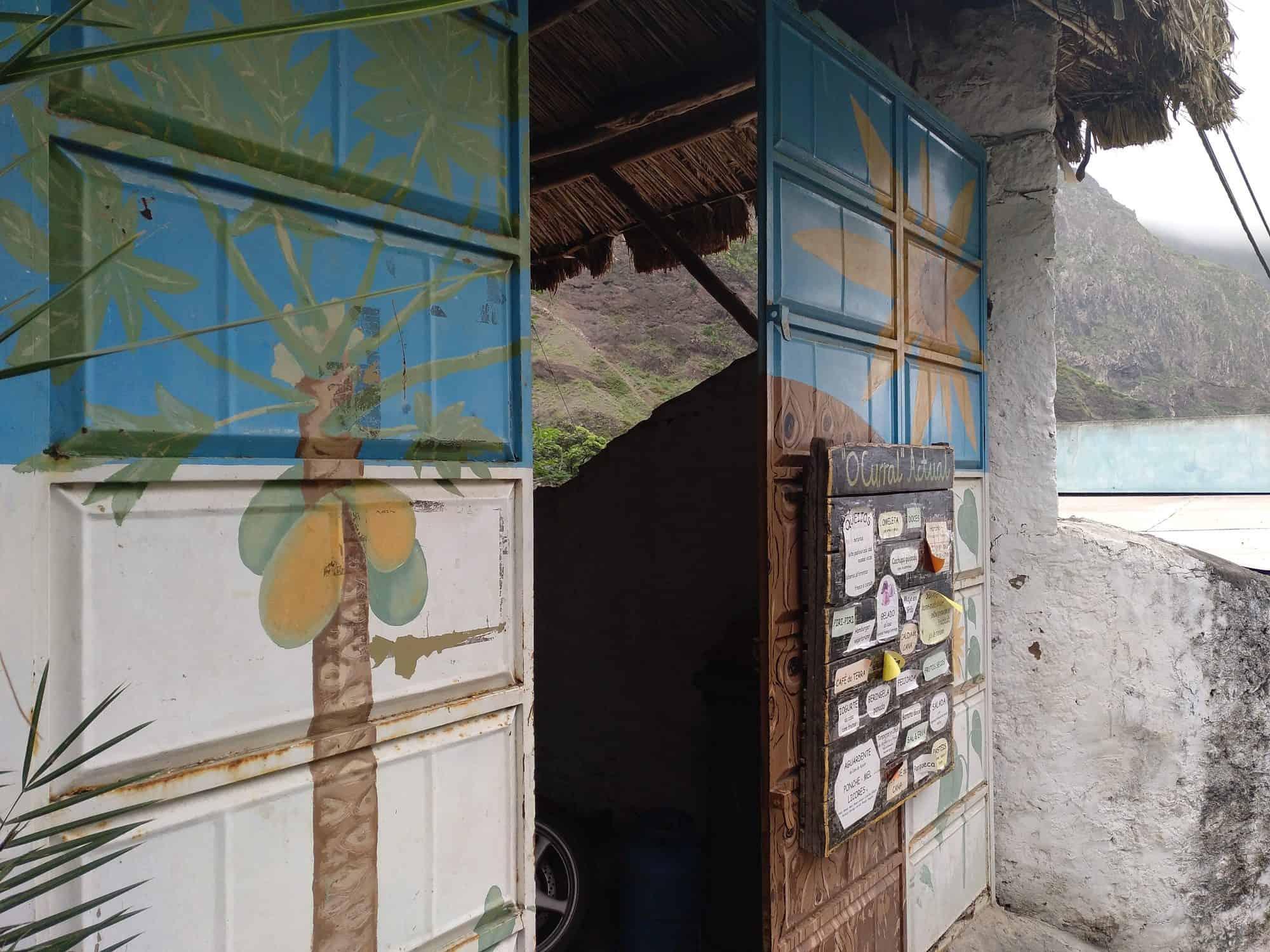 O Curral Actual im Paul Tal auf Santo Antao Kapverden