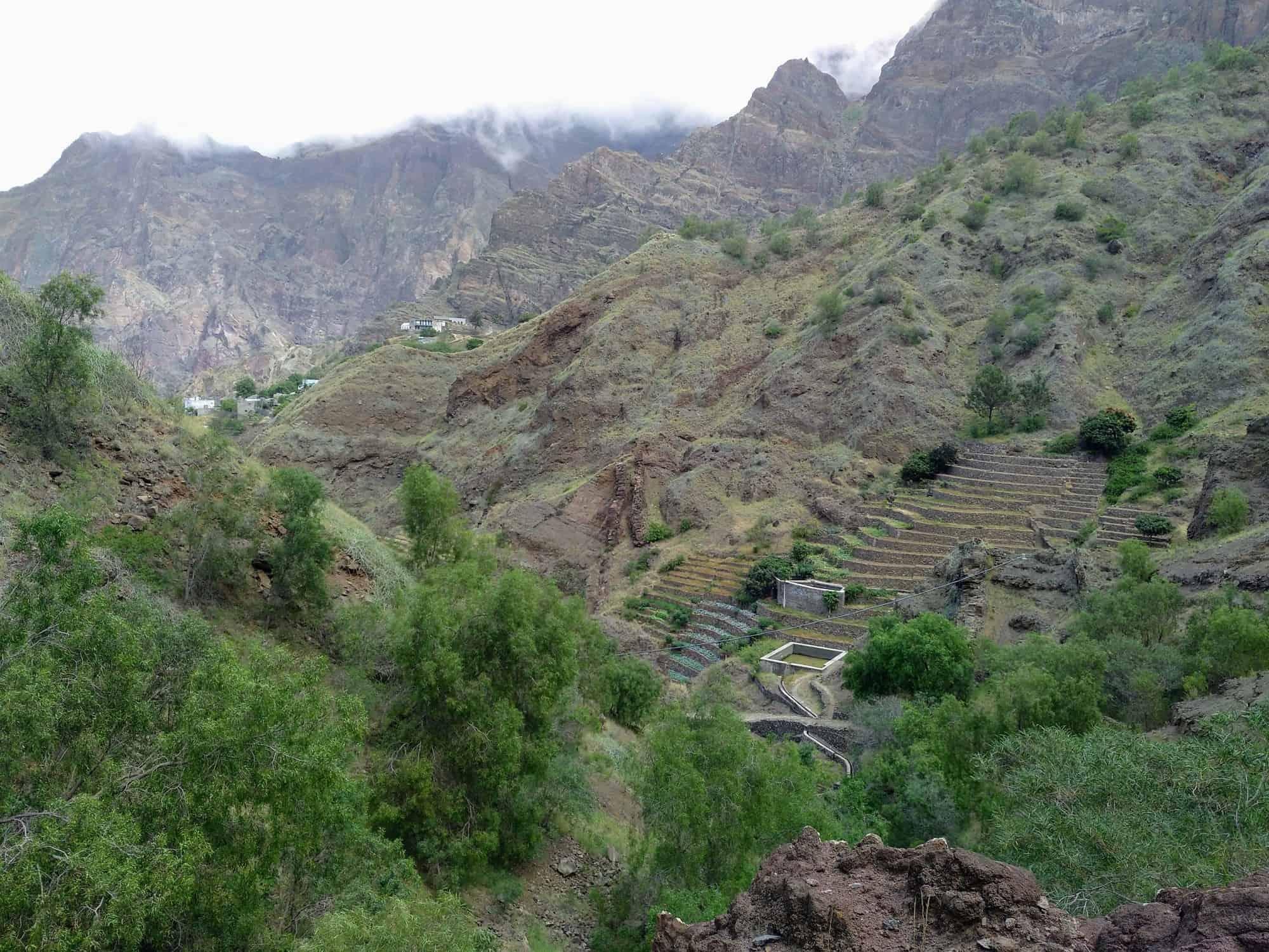 Tal auf Santo Antao Kapverden