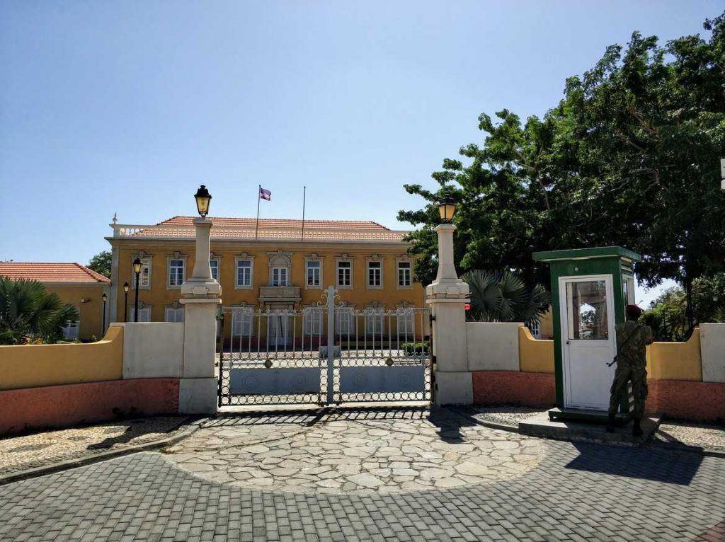 Präsidentenpalast auf Praia Santiago Kapverden