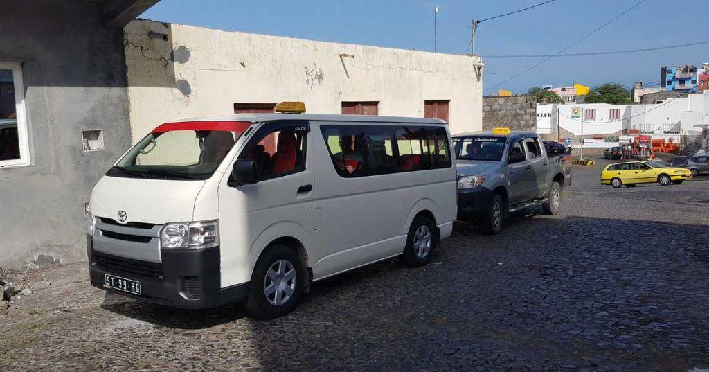 Unsere Fahrzeuge auf Fogo Kapverden