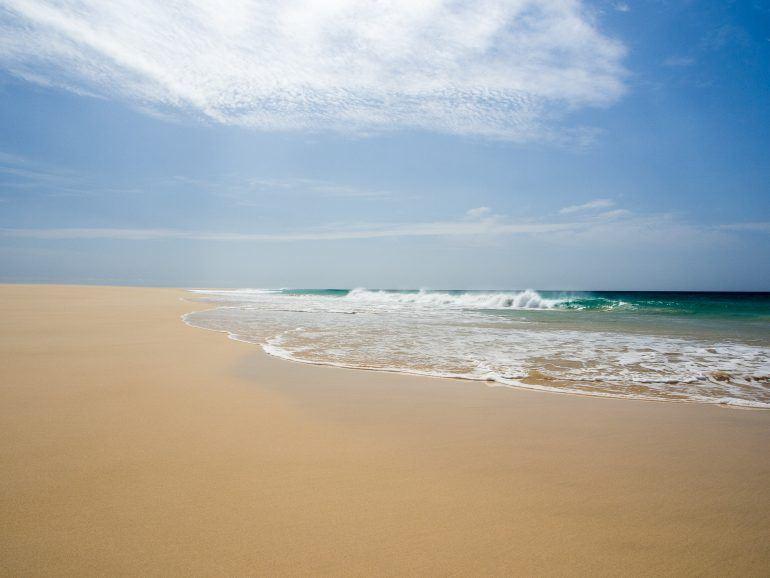 Santa Monica Beach auf Boa Vista Kapverden
