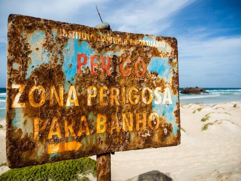 Schiffswrack Cabo Santa Maria auf Boa Vista Kapverden