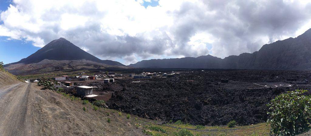 Panorama Pico Grande auf Fogo Kapverden