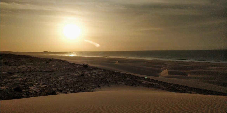 Sonnenuntergang auf der Kapverdischen Insel Boa Vista