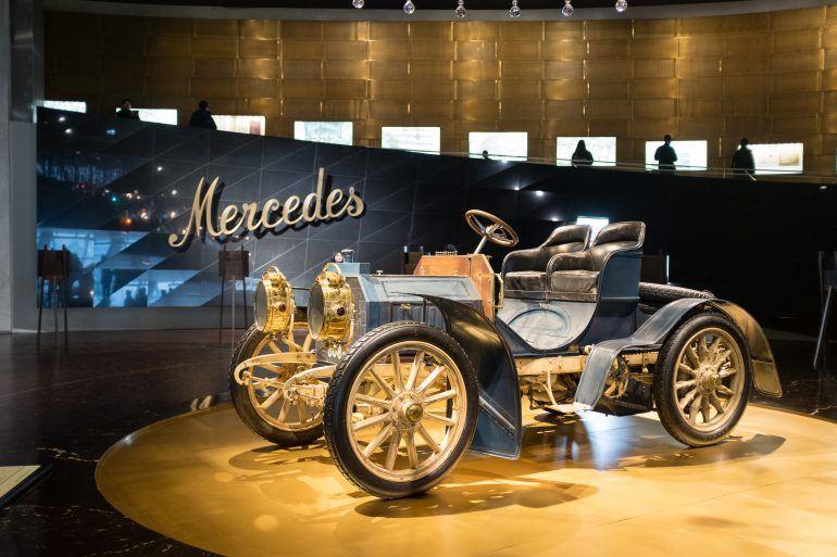 Mercedes Benz Museum in Stuttgart