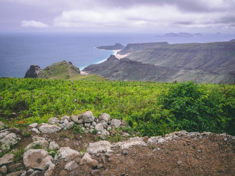 Aussicht vom Monte Verde auf Sao Vicente Kapverden