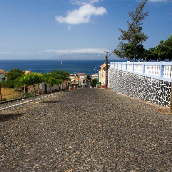 Rundgang durch Sao Filipe Kapverden