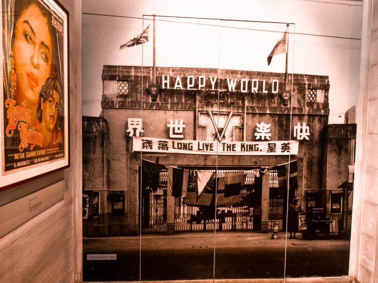 National Museum in Singapur